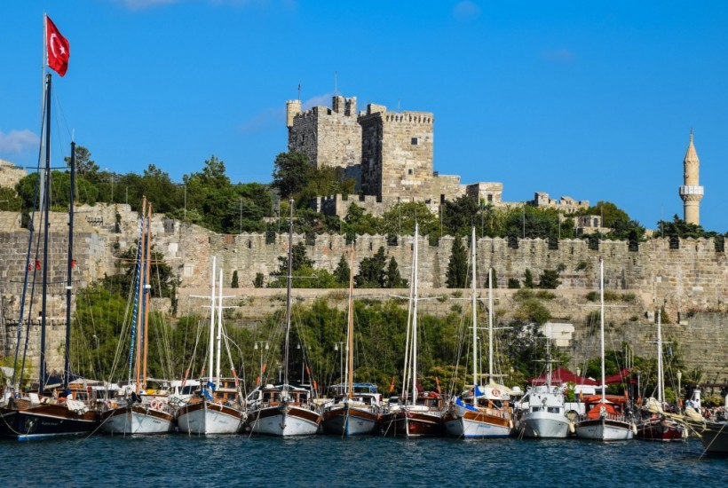 Kos to Bodrum Castle Turkey