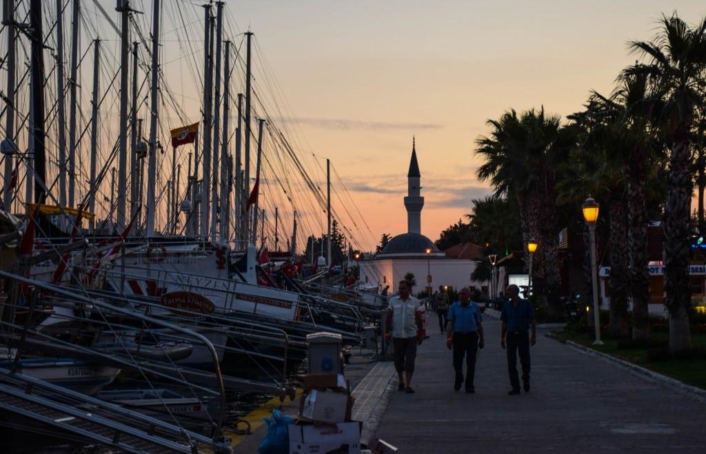 Sunset Bodrum Marina