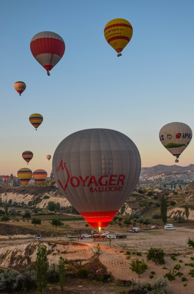 Hot Air Balloons Goreme Cappadocia Turkey