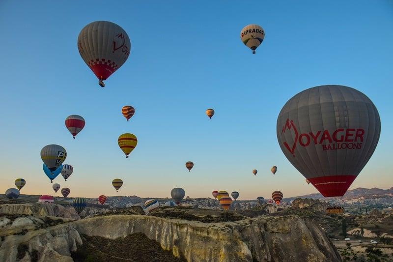 Hot Air Balloons Goreme Cappadocia