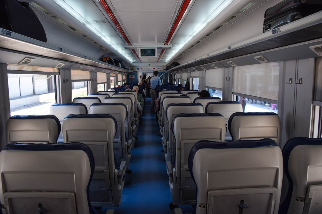Turkish Train Denizli to Izmir