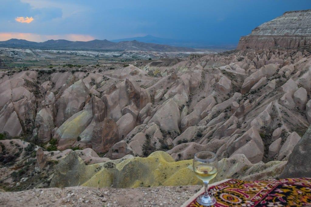 Sunset spot Rose Valley Cappadocia