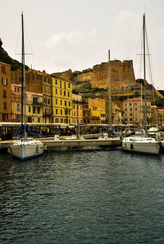 Harbor Bonifacio Corsica
