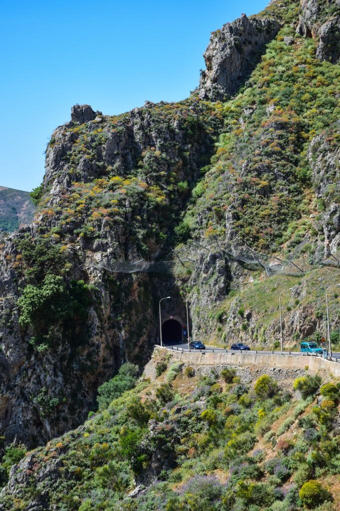Driving in Crete Greece