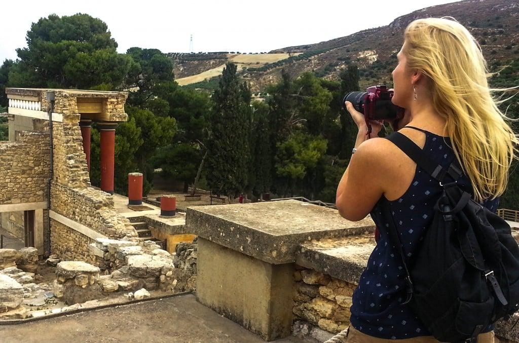 Jenny McIver Knossos Crete Greece