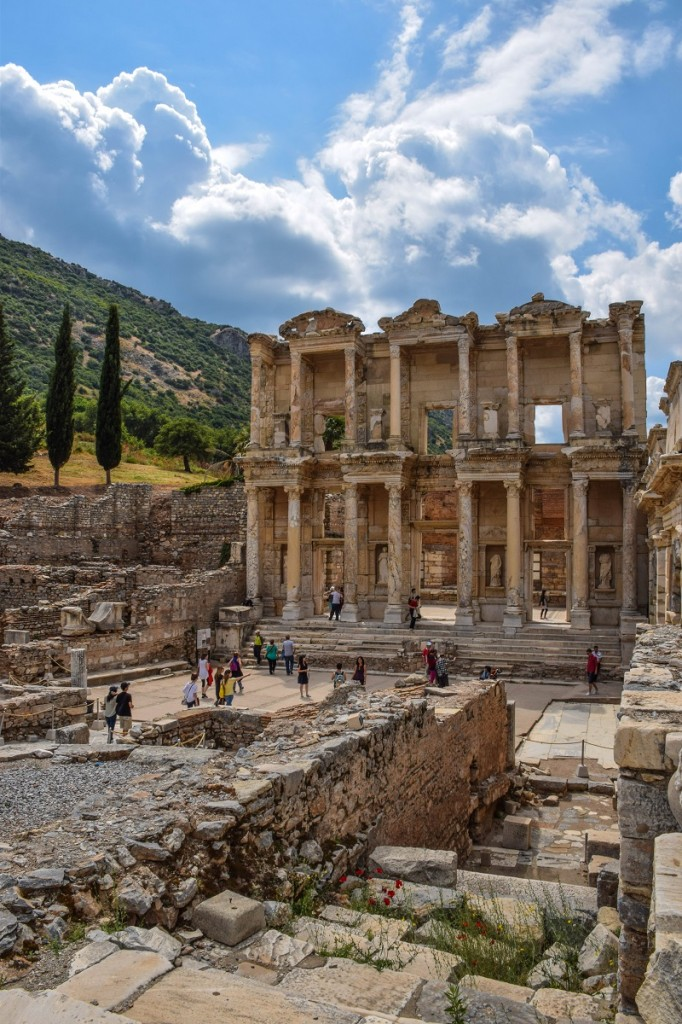 Library of Celsus Ephesus Turkey