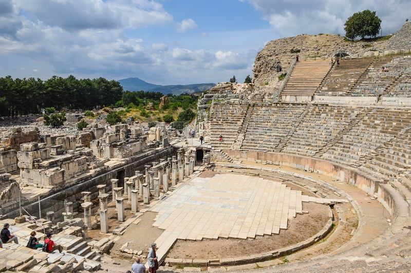 Grand Theatre Ephesus Turkey
