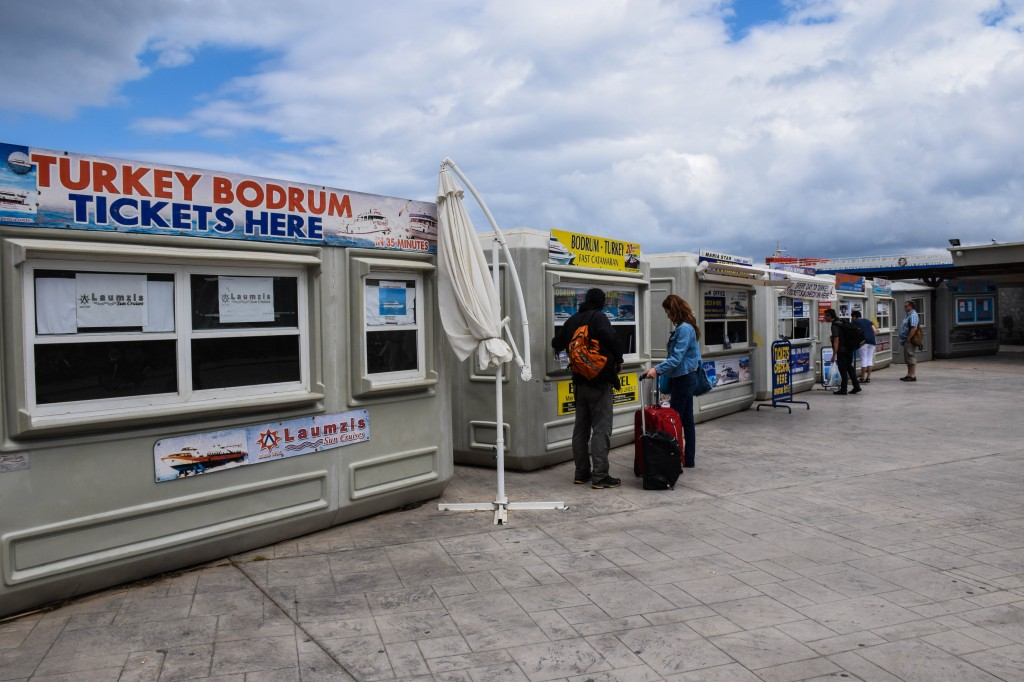 Kos to Bodrum ferry