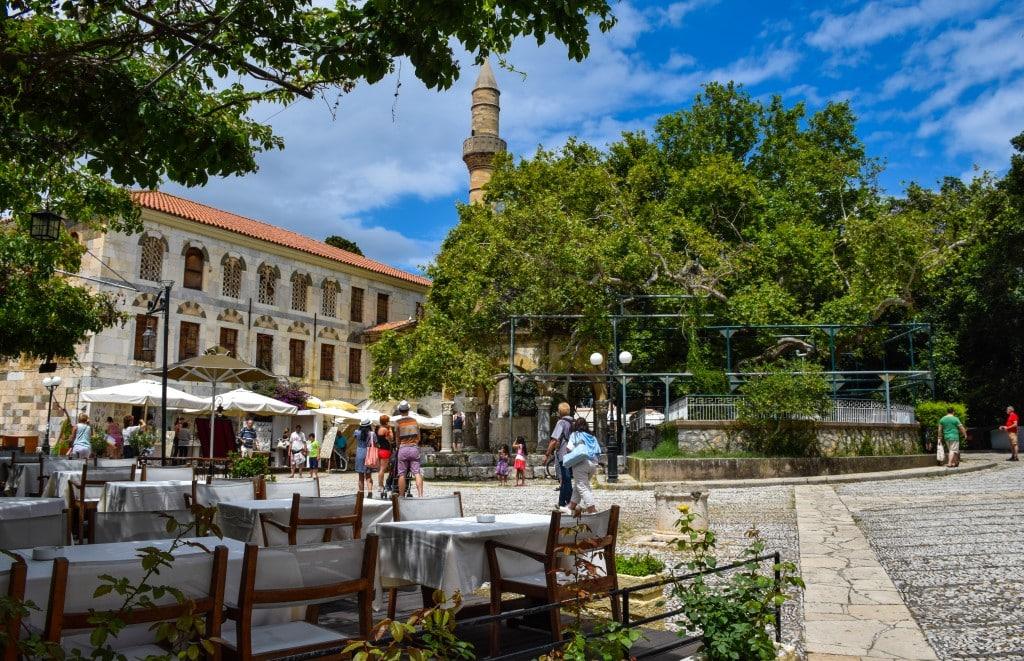 Hippocrates Tree Kos Greece