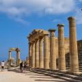 Lindos Acropolis Rhodes Greece