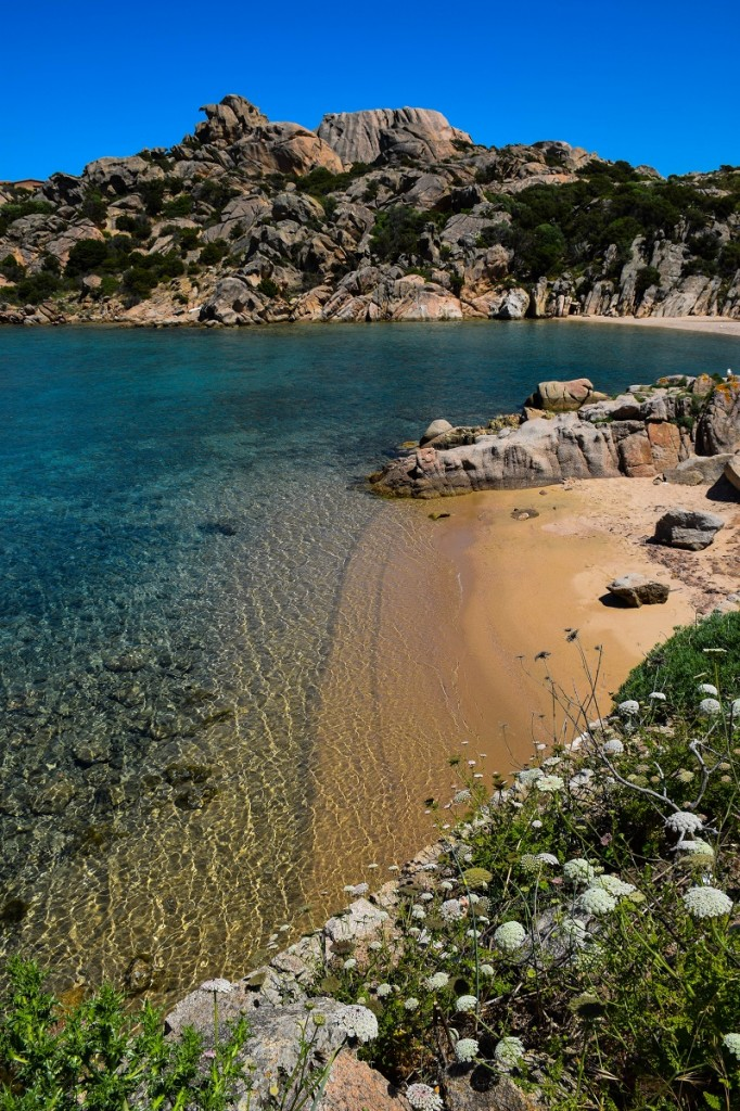 Spalmatore Beach Maddalena Islands Sardinia