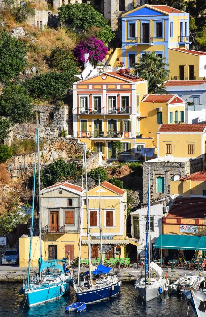 Architecture Symi Greece