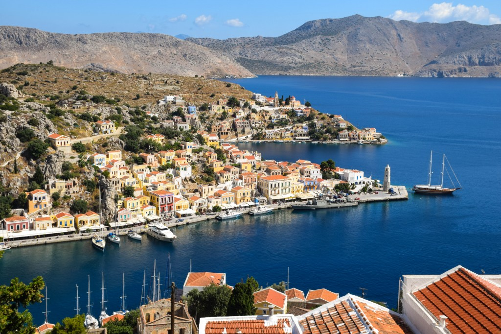 Symi Harbor Symi Greece