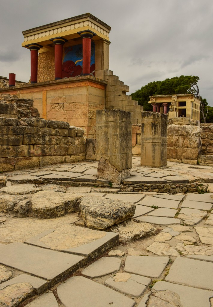 Palace of Knossos Crete Greece