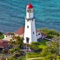 Diamond Head Lighthouse Waikiki Hawaii