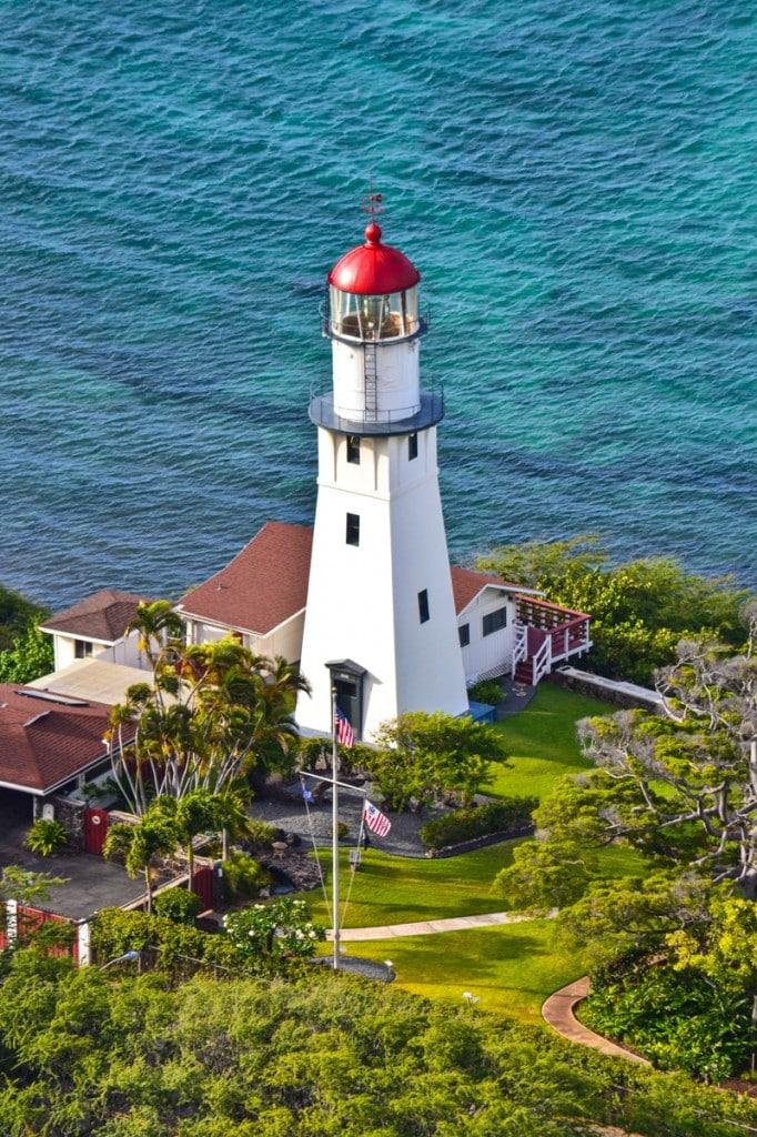Diamond Head Lighthouse Waikiki Hawaii