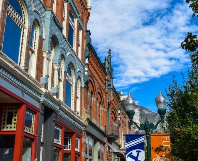 Historic Downtown Provo Utah