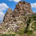 Uchisar Castle Cappadocia Turkey