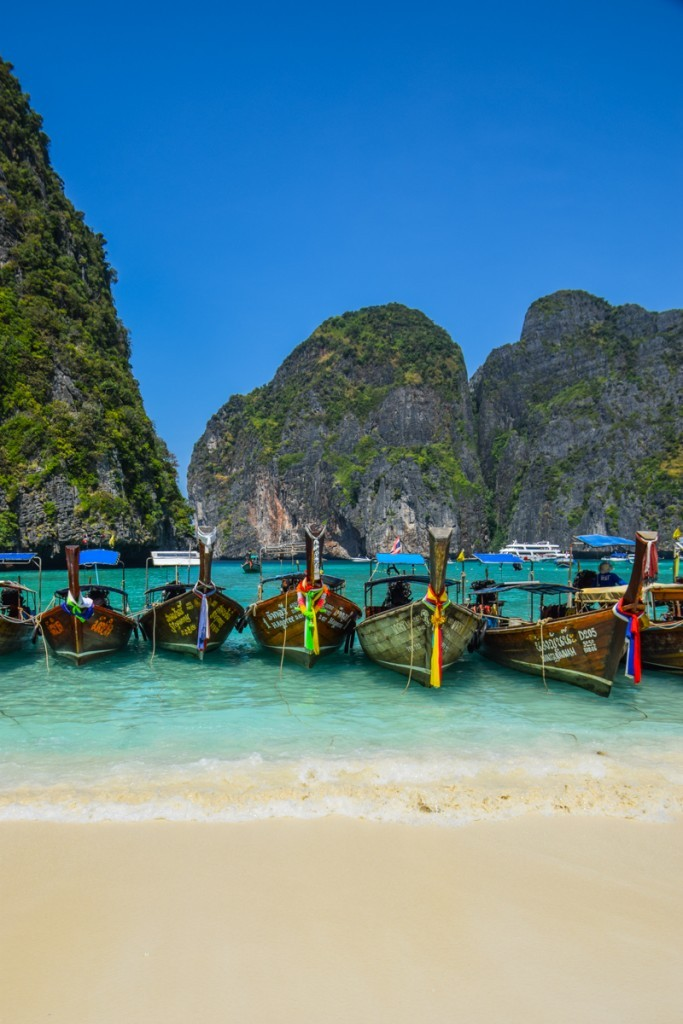 Maya Bay Phi Phi Islands Thailand