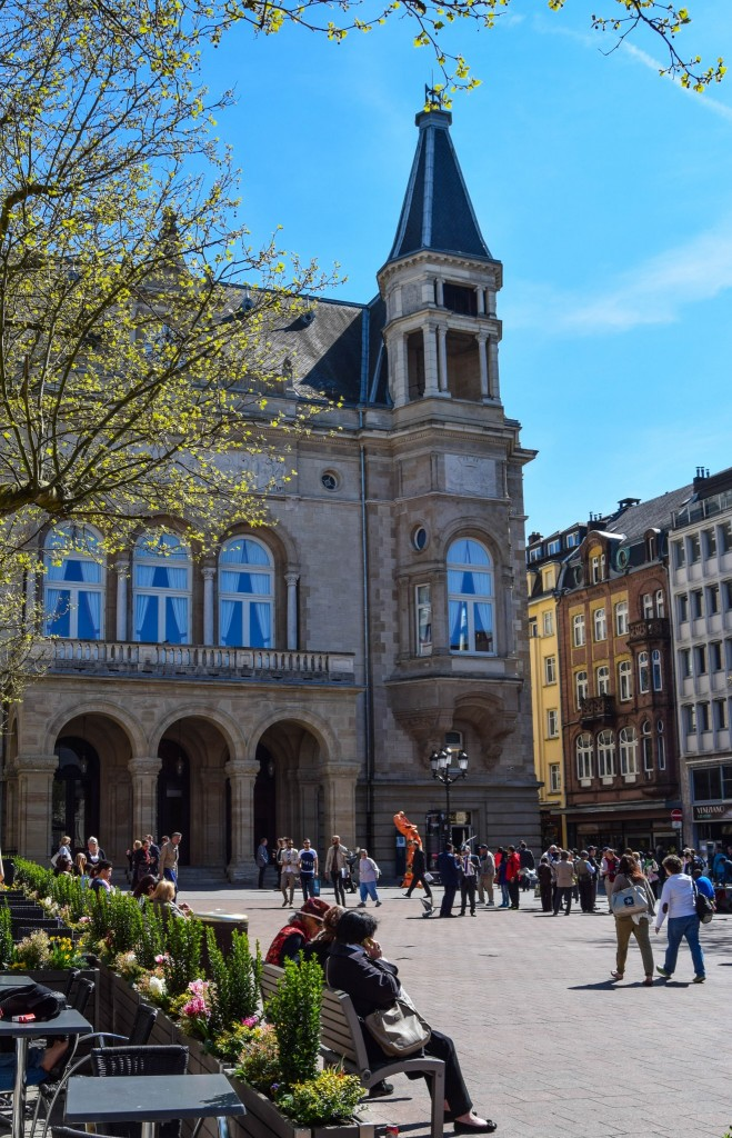 Place d'Armes Luxembourg