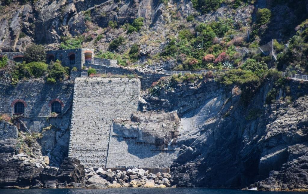 Landslide Cinque Terre Italy