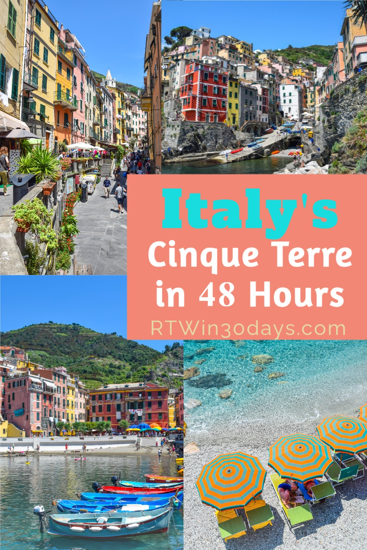 Cinque Terre Italy Travel Tips