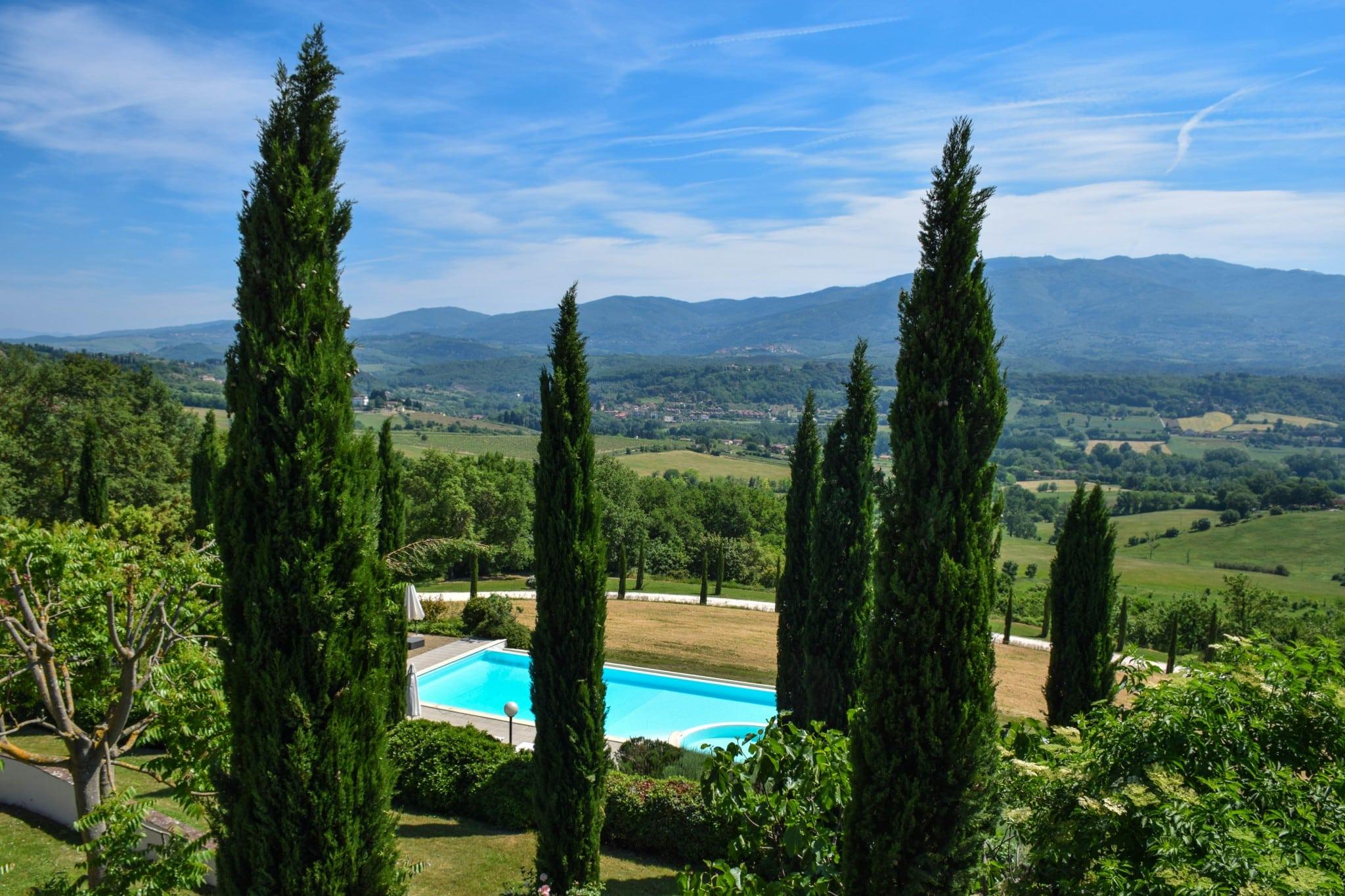 Villa Poggio Tre Lune Tuscany Italy
