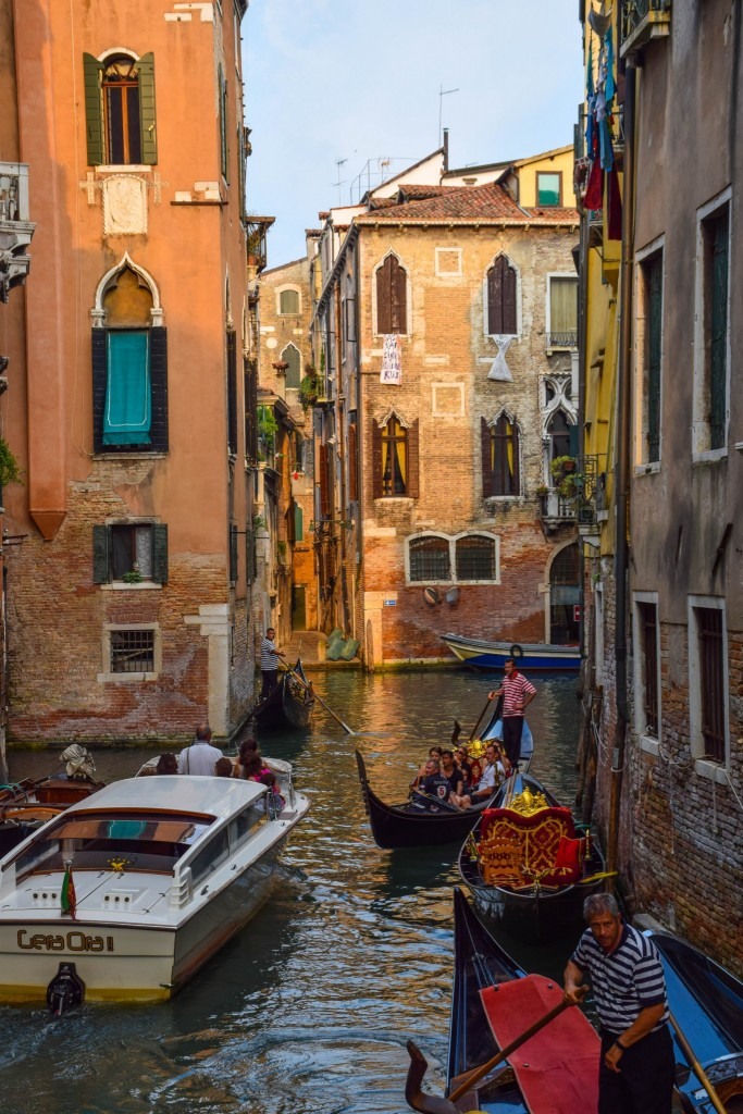 Canals Venice Italy