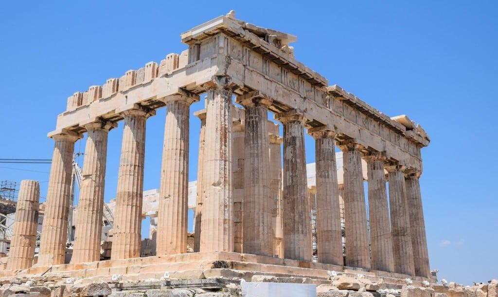 Acropolis Parthenon Athens Greece