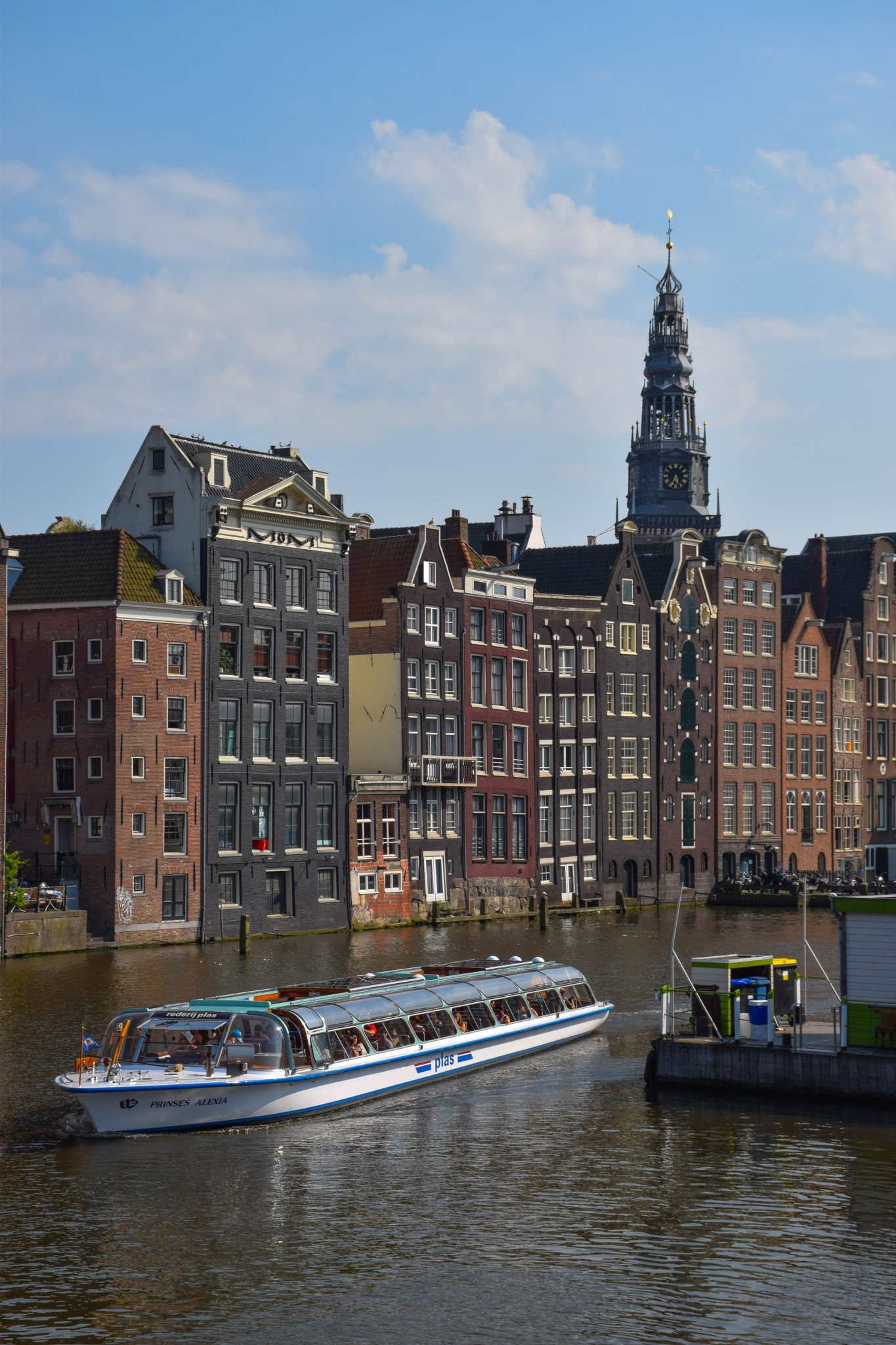 Amsterdam Blue Boat Canal Tour
