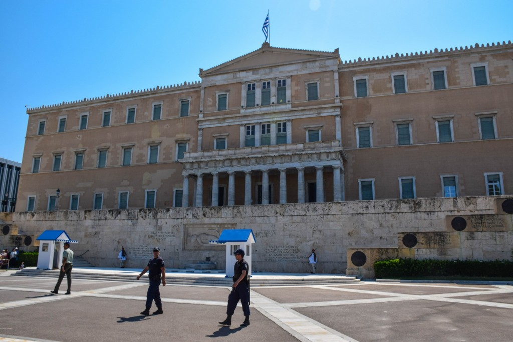 Parliament Syntagma Square Athens Greece