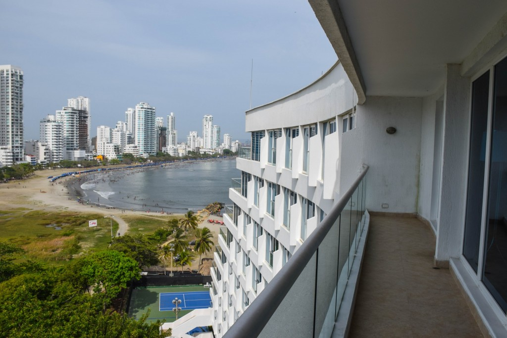 Hilton Cartagena Colombia Suite View