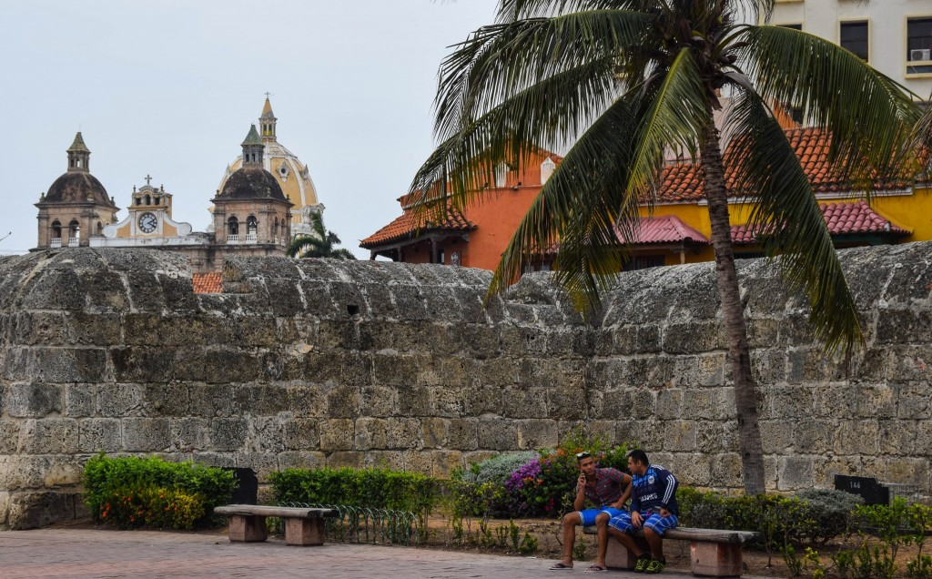 Walled City Cartagena Colombia