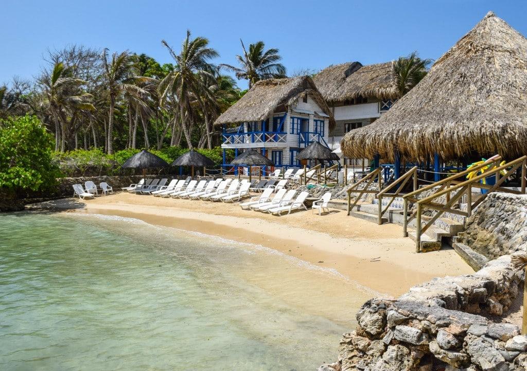 Eco Hotel Isla del Sol Rosario Islands Colombia