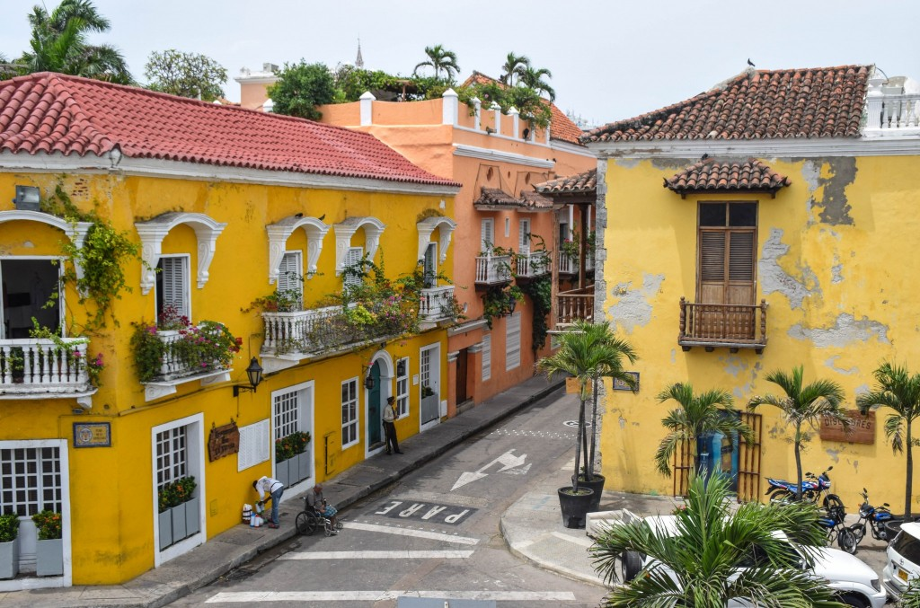 Old Town Cartagena Colombia