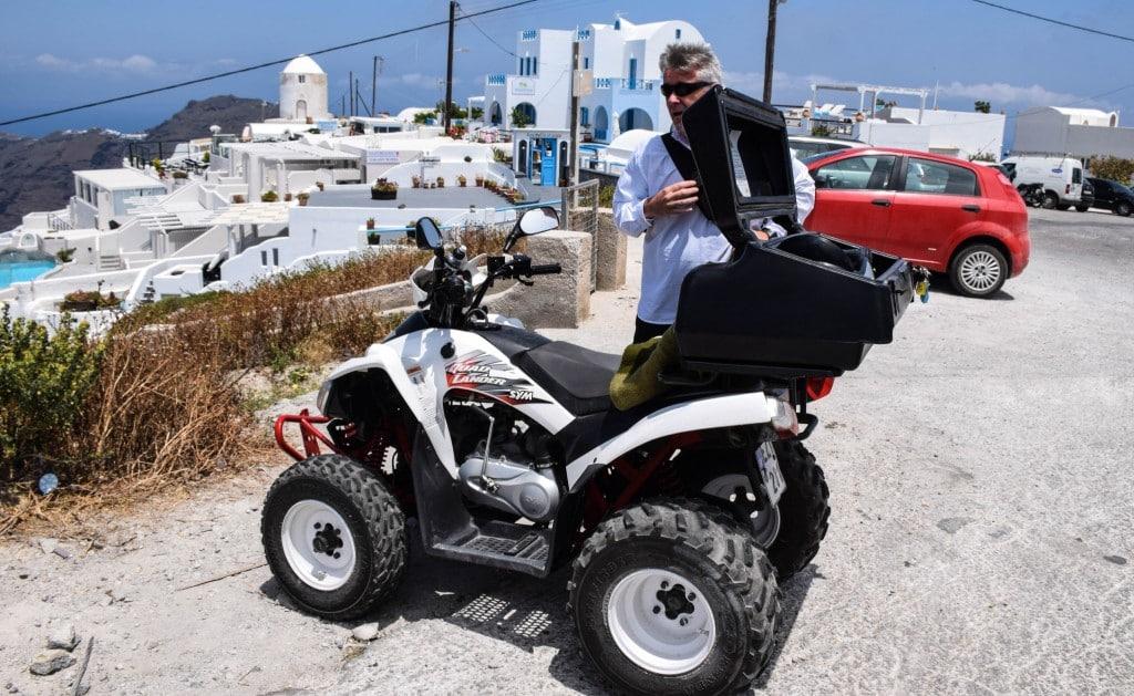 Santorini Quad Bike