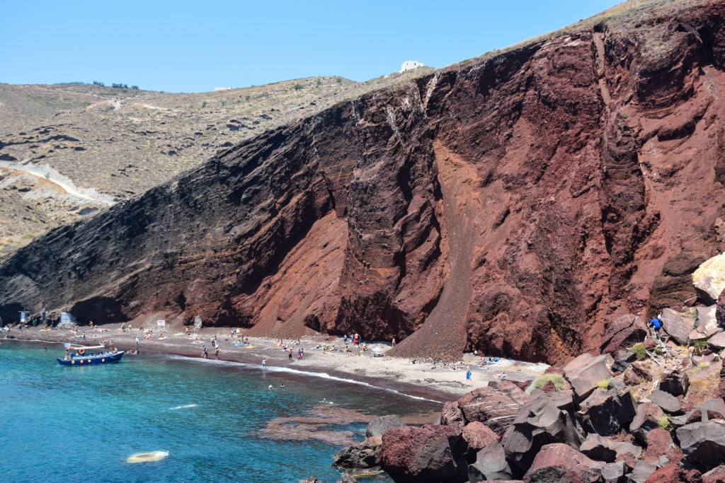 Red Beach Santorini Greece
