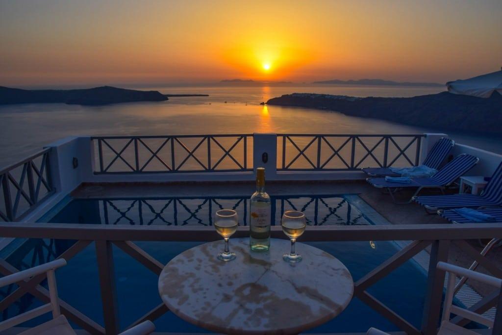 Santorini Sunset Imerovigli