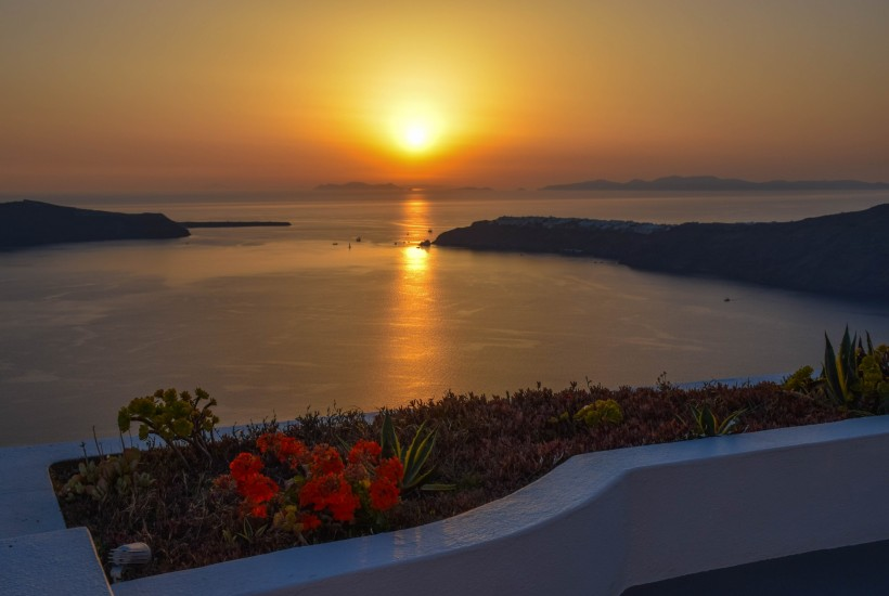 Santorini Sunsets Greece