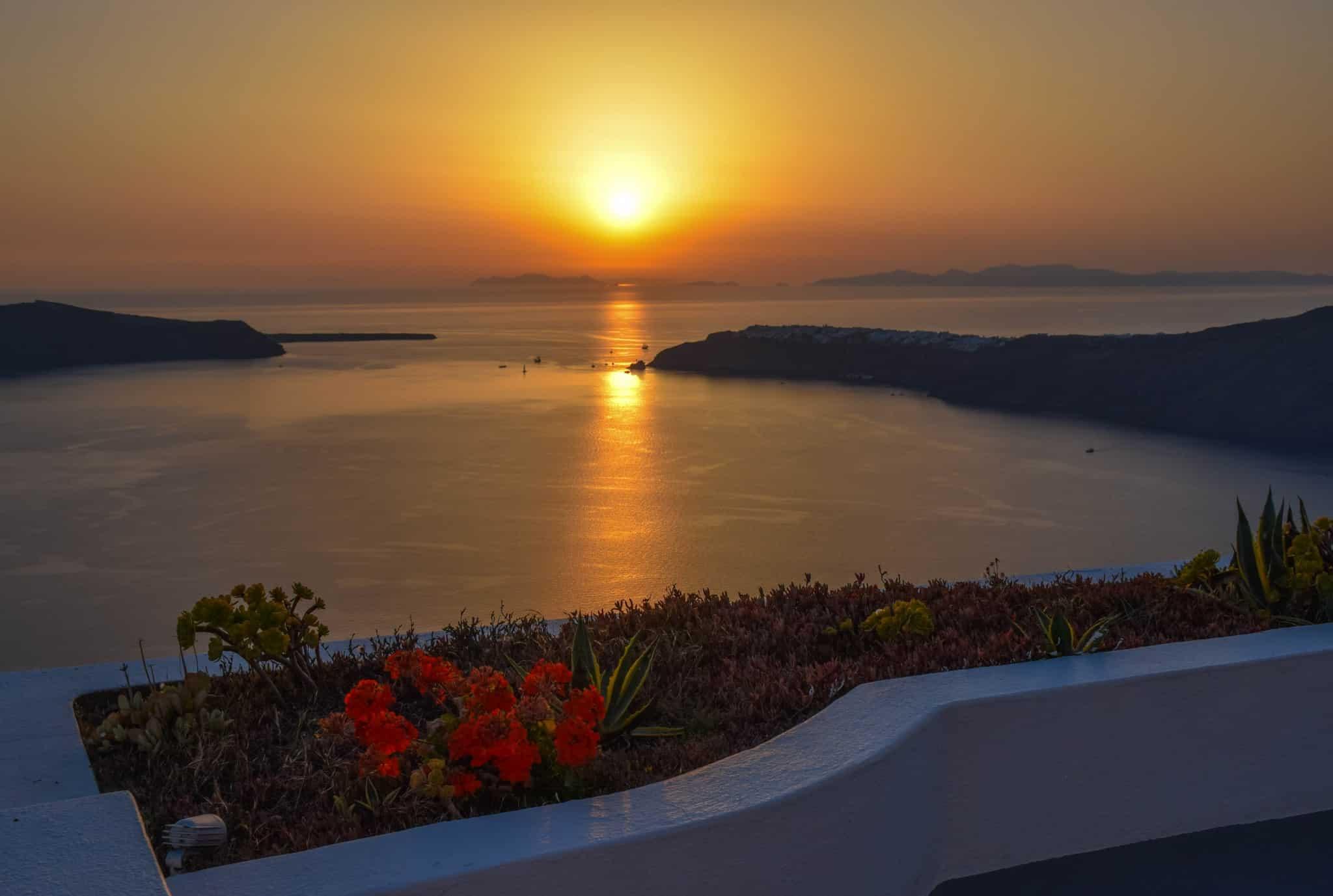 Santorini Sunsets Greece