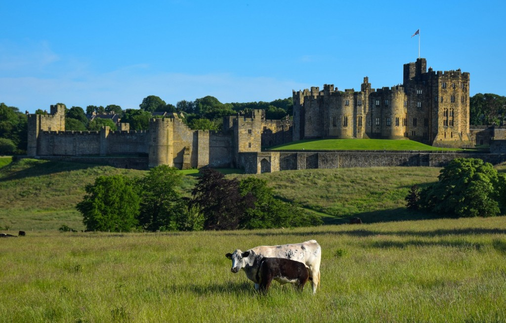 Alnwick Castle Harry Potter England
