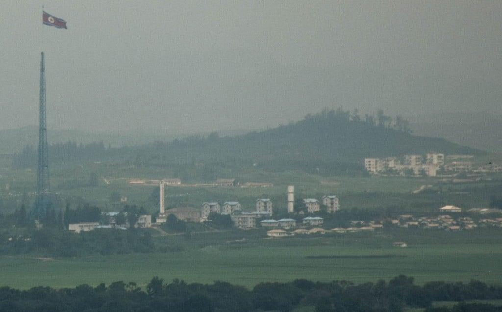 DMZ North Korea View