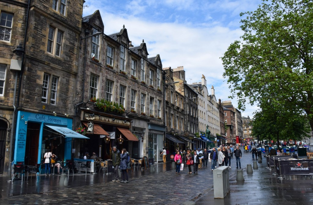Grassmarket Edinburgh Scotland