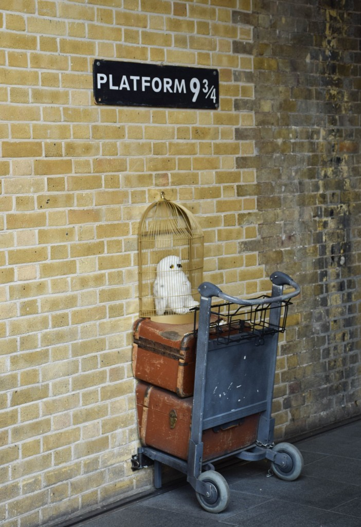 Harry Potter Kings Cross Station London