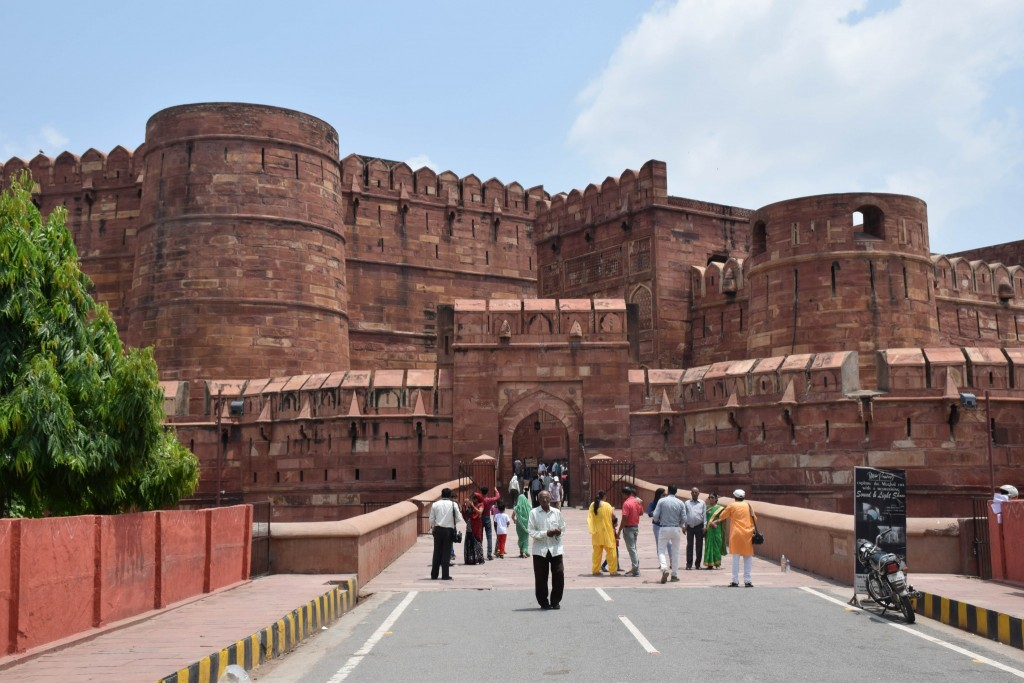 Red Fort Agra Fort India