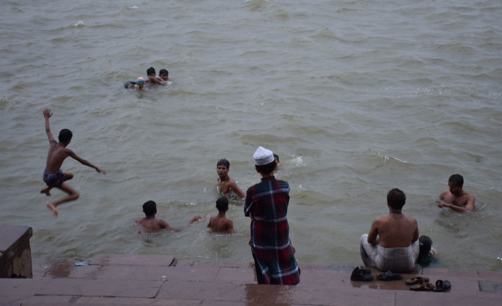 Swim Ganges Varanasi India