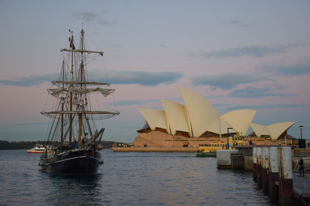 Sydney Harbour Tall Ship
