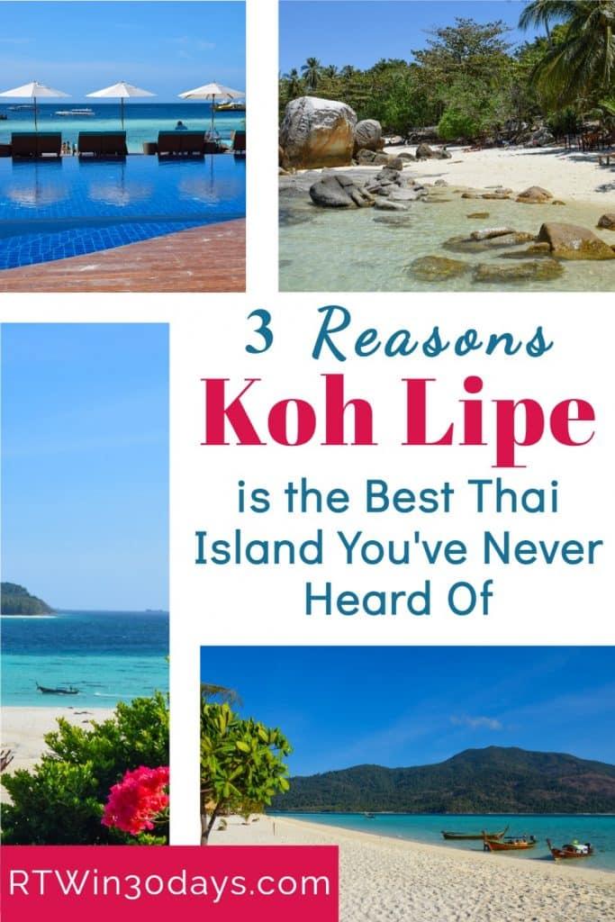 Thai Islands Koh Lipe Thailand