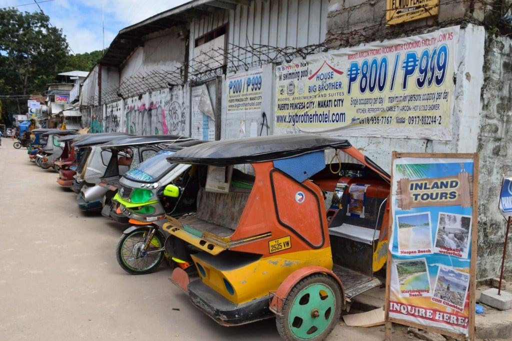 Filipino Tricycles El Nido Palawan