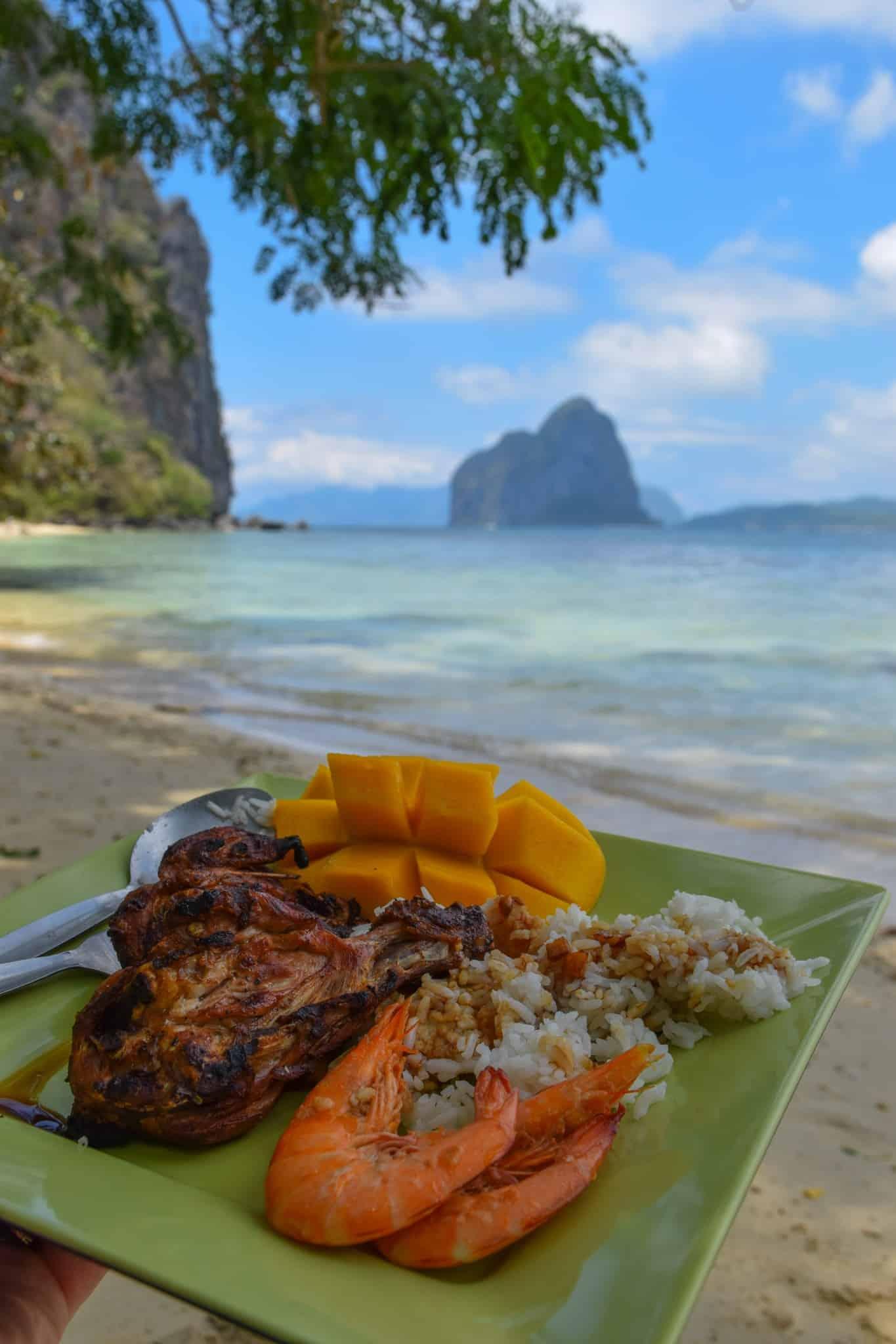 Lunch El Nido Palawan Philippines